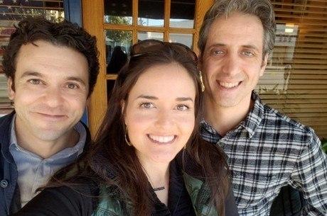 Fred Savage, Danica McKellar e Josh Saviano juntos