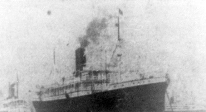 O navio Anselm, que levou os astrônomos britânicos de Liverpool a Belém, foi o primeiro a retomar as viagens para a América do Sul após a guerra