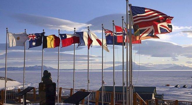 O Tratado da Antártida foi assinado em 1º de dezembro de 1959