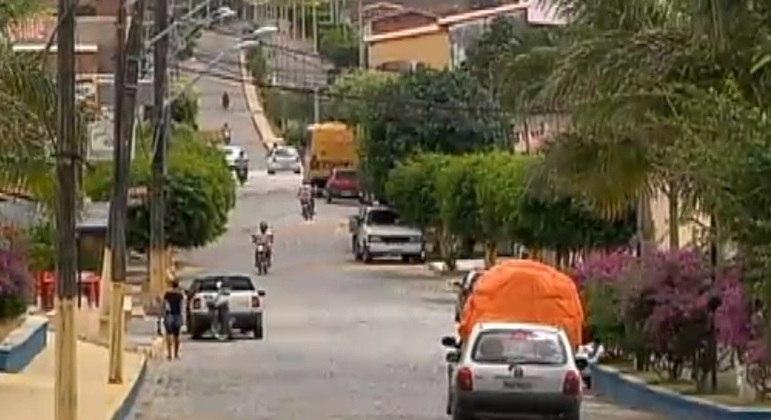 Cidade de Antas, no sertão da Bahia