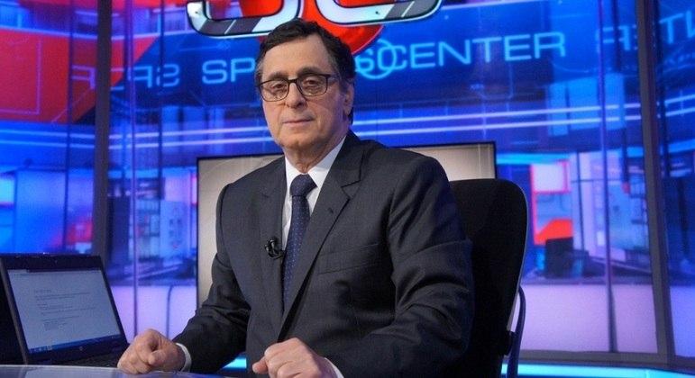 Antero Greco acaba de renovar seu contrato com os canais esportivos da Disney