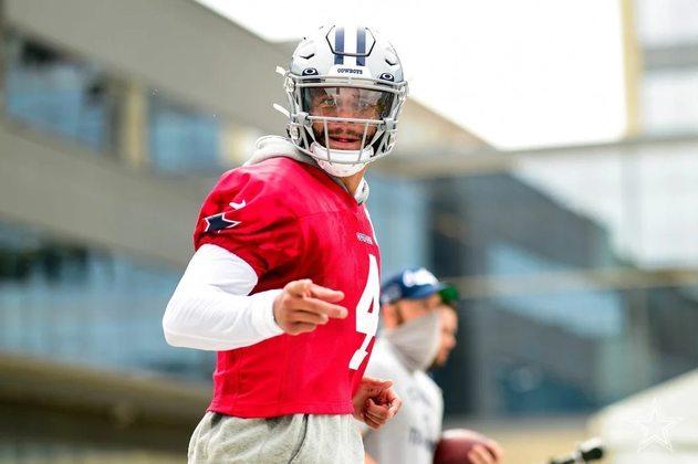 Antes da lesão que encerrou sua temporada de 2020 precocemente, seus números como quarterback vinham em um passo incrível. Com cinco anos de experiência, Prescott se tornou a face da franquia de Dallas.