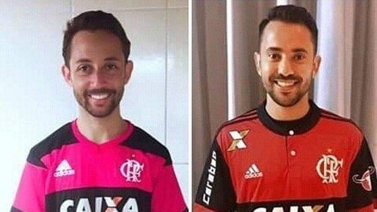 Antes da onda de sósias do Flamengo em 2019, Éverton Ribeiro foi um dos primeiros a encontrar sua