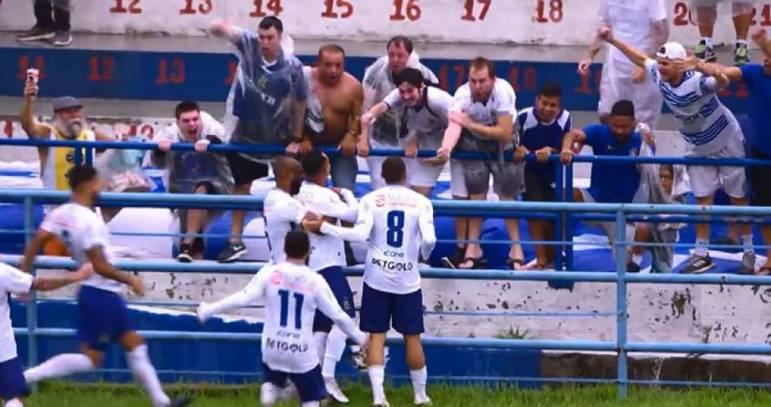 Antes da paralisação do Campeonato Paulista por conta do coronavírus, o Santo André estava na liderança geral do Estadual, com 19 pontos (mesma pontuação do Palmeiras, mas com uma vitória a mais).