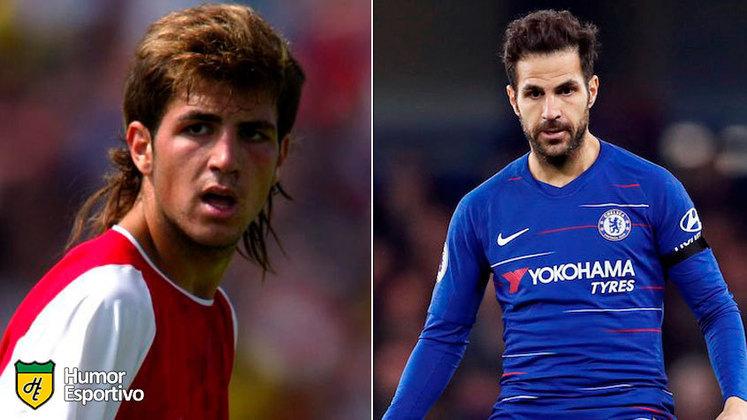 Antes e depois: as mudanças de Cesc Fàbregas