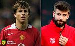 Antes e depois: as mudanças de Gerard Piqué