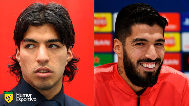 Antes e depois: as mudanças de Luisito Suárez