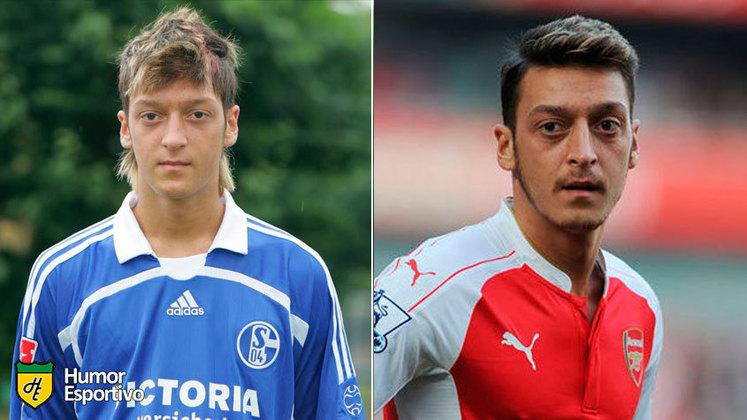 Antes e depois: as mudanças de Mesut Özil