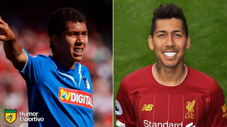 Antes e depois: as mudanças de Roberto Firmino