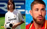 Antes e depois: as mudanças de Sergio Ramos