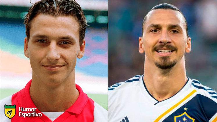 Antes e depois: as mudanças de Zlatan Ibrahimovic