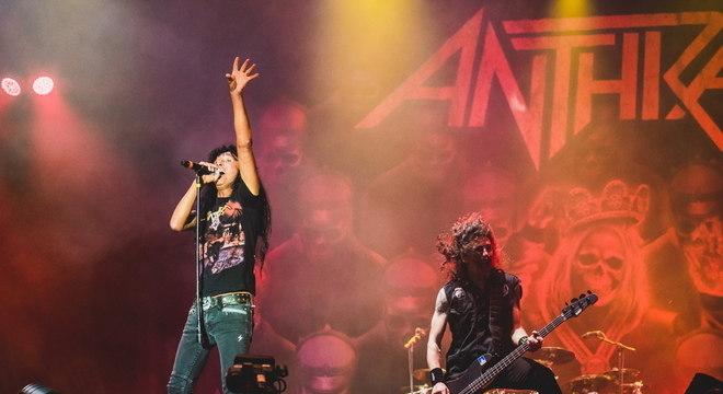Com quase 40 anos de carreira, Anthrax esbanja energia no Rock In Rio
