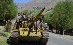 Pelo local ser cercado de montanhas e ter difícil acesso, os militantes daFRN conseguem controlar facilmente a chegada de possíveis invasores, como o que pode acontecer com o Talibã