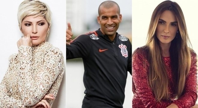 Antonia Fontenelle, Emerson Sheik e Nicole Bahls