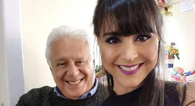 Antonio Fagundes e a mulher Alexandra