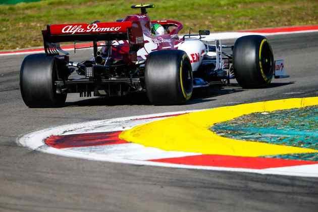 Antonio Giovinazzi voltou a somar pontos na Fórmula 1