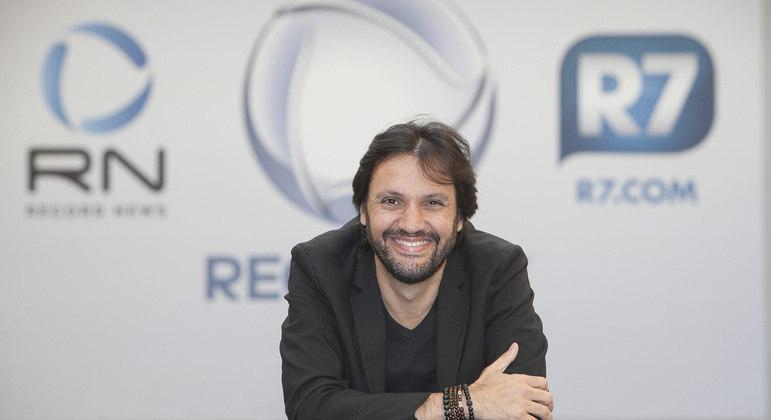 Antonio Guerreiro - vice-presidente de jornalismo da Record