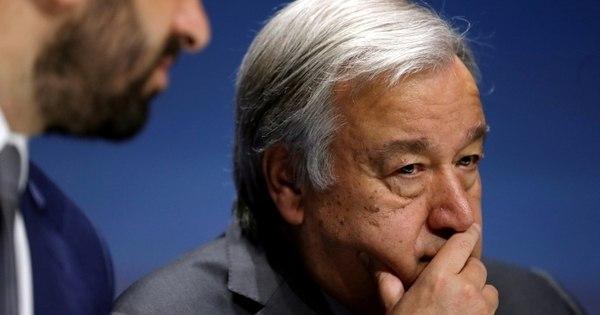 Chefe da ONU diz que é essencial evitar escalada de tensões no Irã