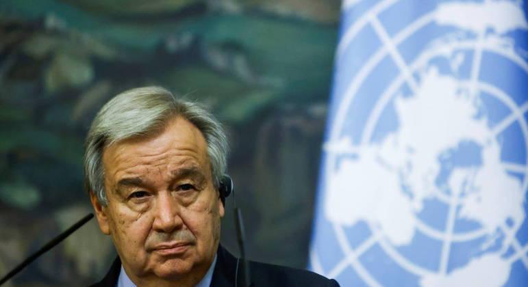 Secretário geral da ONU, Antonio Guterres