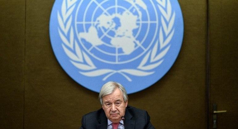 Secretário-geral da ONU faz alerta sobre o clima para comunidade internacional