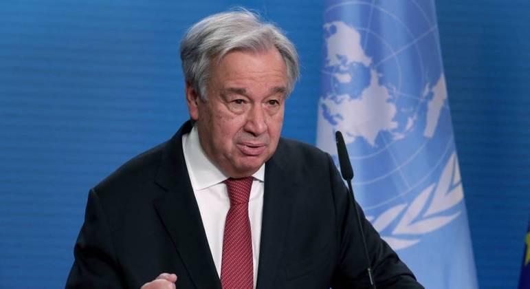 Pedido foi feito pelo secretário-geral da ONU, Antó nio Guterres