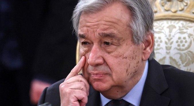 Antonio Guterres, secretário-geral da ONU, afirmou que estava 'indignado' com ataques