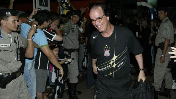 Antônio Lopes - Treinou o Corinthians entre setembro de 2005 e março de 2006 - 37 jogos (Campeão Brasileiro de 2005)
