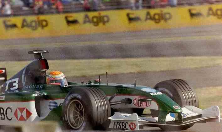 Antonio Pizzonia passou pela Jaguar, quando sequer terminou a temporada 2003, e depois correu pela Williams