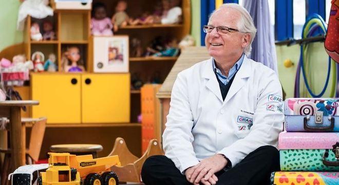Petrilli no Grupo de Apoio ao Adolescente e à Criança com Câncer (Graacc)