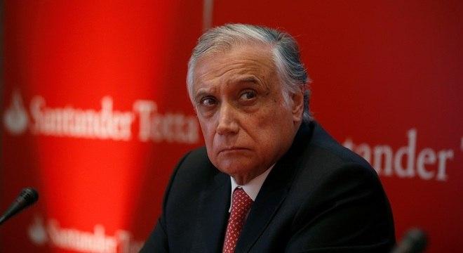 António Vieira Monteiro, presidente do conselho de administração do Santander