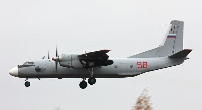 A aeronave que caiu nesta sexta é um AN-26 das Força Aérea da Ucrânia