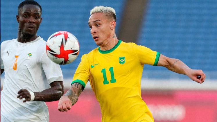 ANTONY (A, Ajax) - Disputou os Jogos Olímpicos e desponta como uma da promessas da Seleção Brasileira.