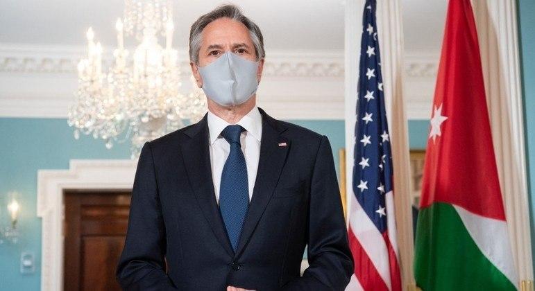 Anúncio foi feito pelo secretário de Estado americano Antony Blinken