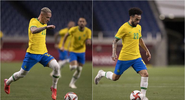 """Se a Olimpíada foi """"vestibular"""" para a Copa, Antony e Claudinho ainda estão na lista de espera"""