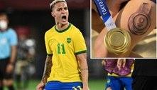 Campeão olímpico, Antony tatua conquista da medalha de ouro