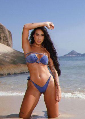 """Any Borges, DJ e empresária, participante do novo reality show """"Ilha Record"""""""