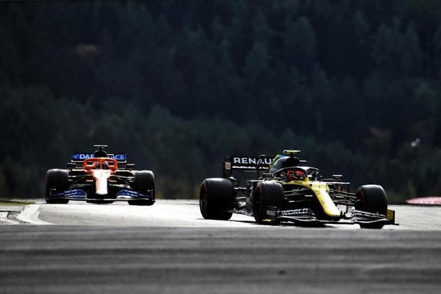Ao contrário de Ricciardo, Esteban Ocon amargou abandono