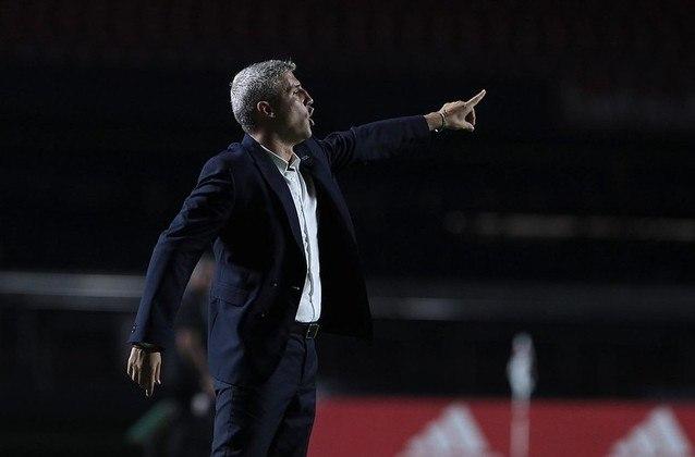 Ao lado de Cuca, Hernán Crespo conseguiu ter o melhor desempenho de um treinador do São Paulo em suas primeiras dez partidas pelo clube.