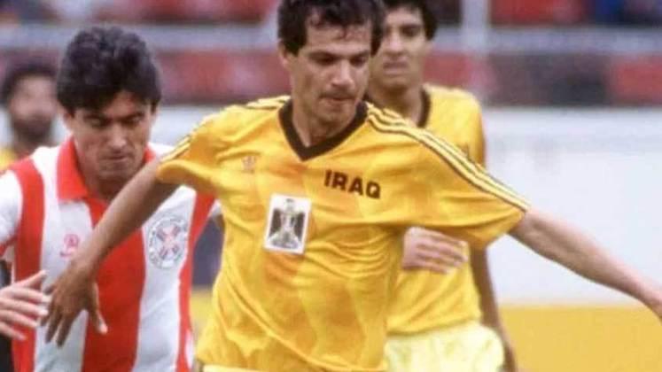 Ao servir a seleção do Iraque entre 1976 e 1990, o ex-meio-campista Hussein Saeed marcou um total de 78 gols pelo seu país em 111 partidas
