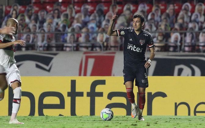 Ao todo no São Paulo, até 21 de outubro de 2020, Pablo tem 59 jogos com a camisa do São Paulo e 16 gols. Ele tem contrato assinado até dezembro de 2022, mas ainda precisa se provar no clube paulista.