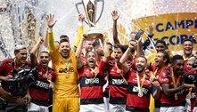 Fla encosta no Palmeiras em títulos nacionais; relembre as conquistas