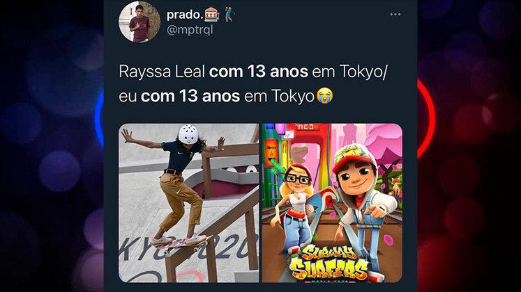 Aos 13 anos, Rayssa Leal conquista medalha de prata nas Olimpíadas e fato rende memes nas redes sociais