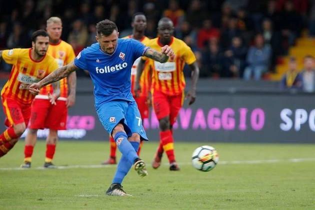 Aos 37 anos Cyril Thereau está à procura de um novo clube. O francês deixou a Fiorentina.
