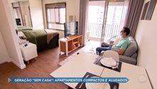 """Geração """"sem casa"""": apartamentos compactos e alugados"""