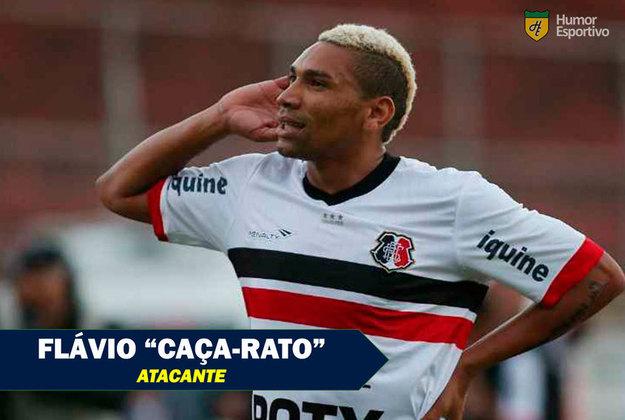 Apelidos inusitados do futebol: Flávio Caça-Rato