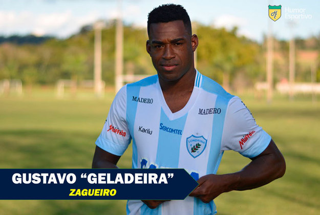 Apelidos inusitados do futebol: Gustavo Geladeira, zagueiro
