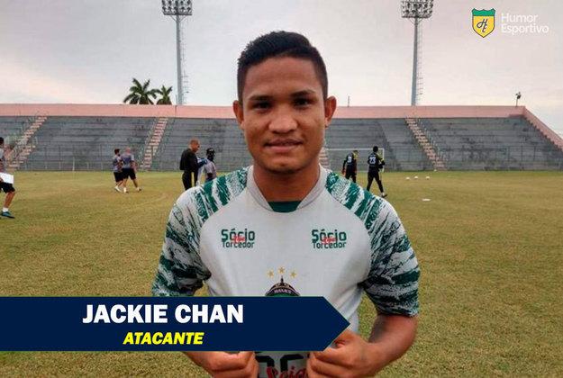Apelidos inusitados do futebol: Jackie Chan, atacante do Manaus FC