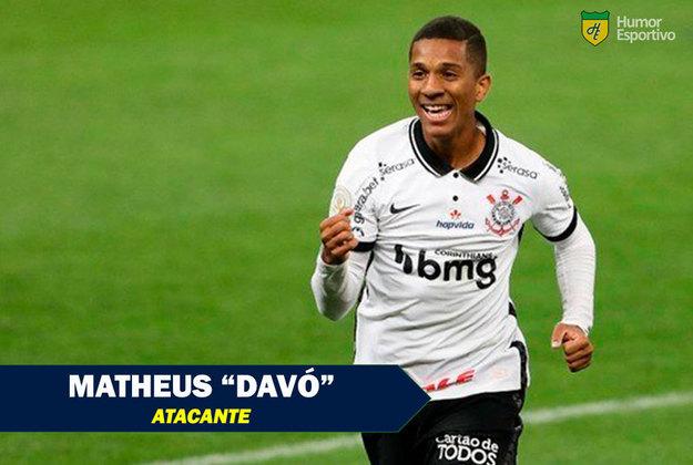 Apelidos inusitados do futebol: Matheus Davó