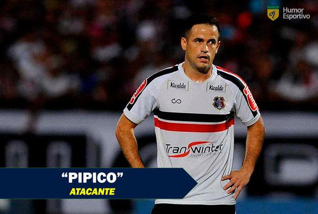 Apelidos inusitados do futebol: Pipico, meia-atacante do Santa Cruz