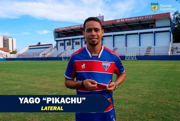 Apelidos inusitados do futebol: Yago Pikachu, lateral/meia do Fortaleza